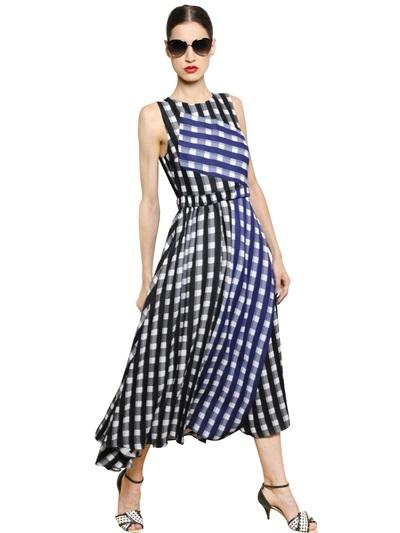 Sportmax Gingham Dress