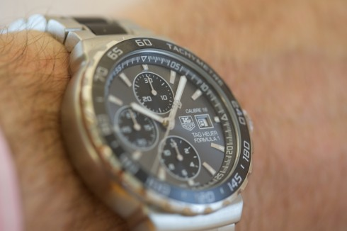 TAG Heuer Formula 1 Calibre 16 Automatic Chronograph 44mm on hand