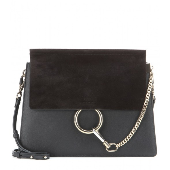 Chloe Faye Leather Suede Bag