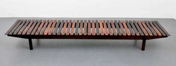 Impressively Long Mucki Bench by Sergio Rodrigues