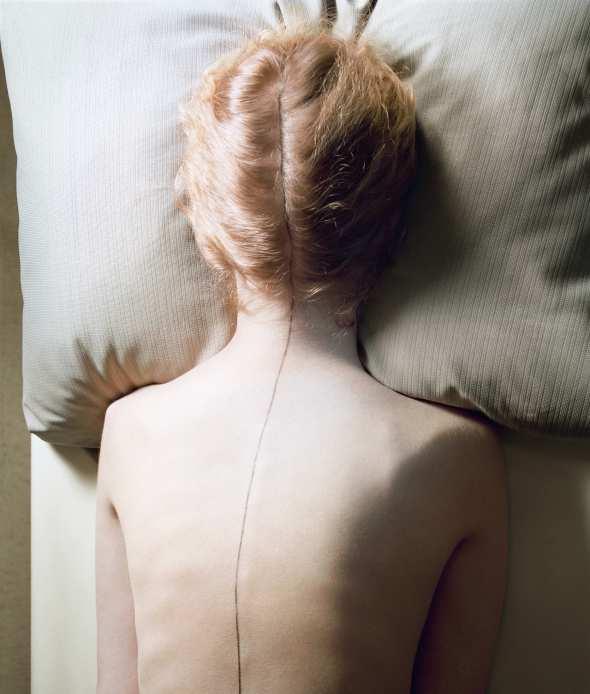 jo-ann-callis-08.Woman with Black Line 1976