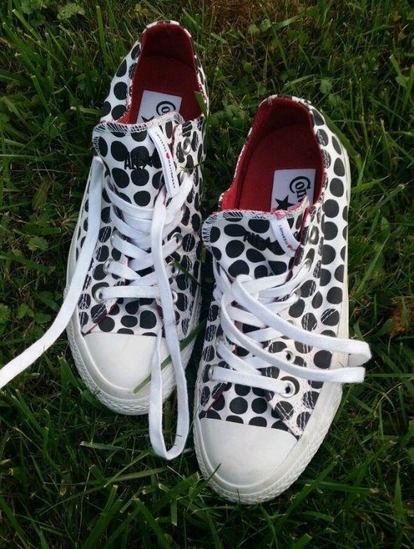 Marimekko Converse Polka Dot Shoes