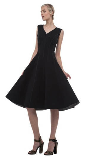 Norma Kamali Grace Dress Black