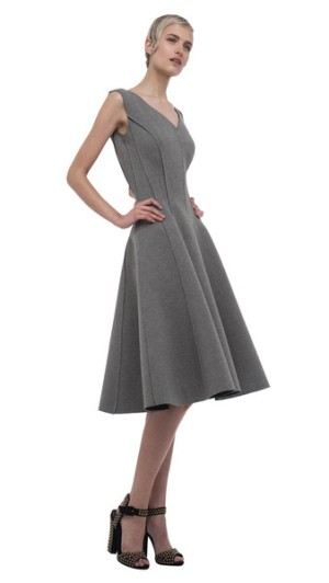 Norma Kamali grace-dress-reversible-darkgrey5447_grande