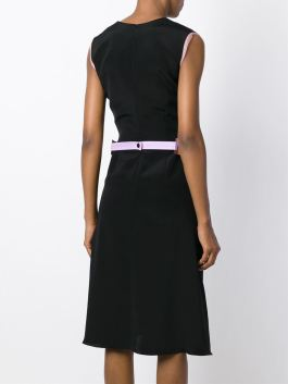 Roksanda Belted Flair Midi Dress with belt $1500 3
