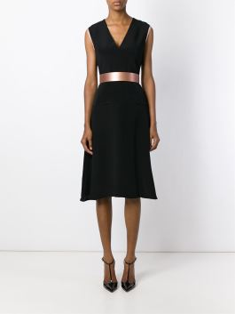 Roksanda Belted Flair Midi Dress with belt $1500 4
