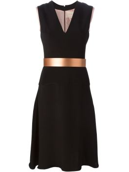 Roksanda Belted Flair Midi Dress with belt $1500