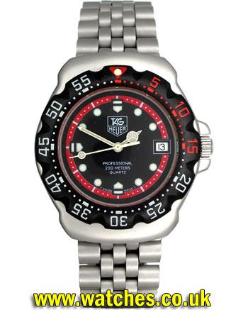 Tag Heuer Formula 1 vintage watch