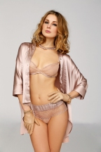 Valery Lingerie Blush pink pearls