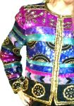 Boxy Beaded Jacket Vintage eBay