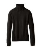Cashmere Turtleneck Sweater black