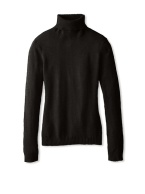 Cashmere Turtleneck Sweater black