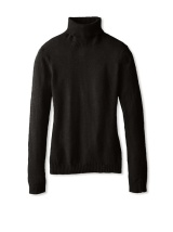 Cashmere Addiction Black Turtleneck Sweater $69
