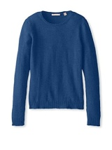 Cashmere Addiction Blue Crewneck Sweater $69