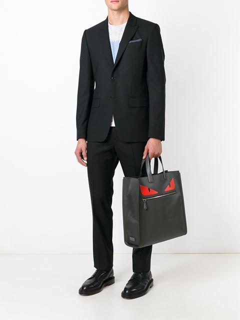 Fendi Bags Bugs Shopper Tote
