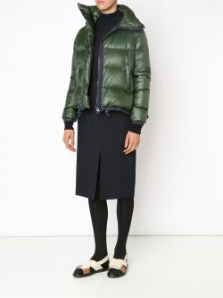 Sacai Luck Puffer Jacket FarFetched person open