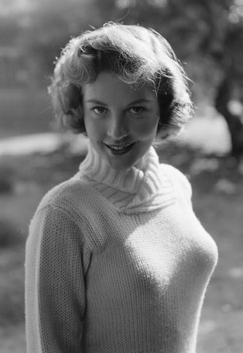 Sweater Girl Barbara Bates2 sweater (CFP)