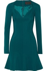 Cushnie Et Ochs Teal Dress