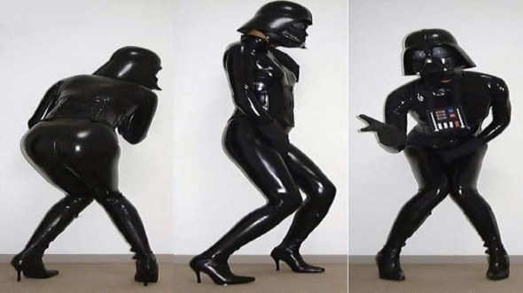Darth Vadar Latex