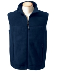 Fleece vest Navy