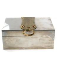 Hermes - Vintage Sterling Silver Cigar Box