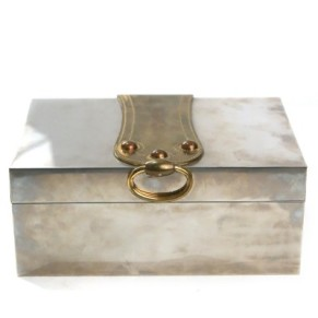 Hermes - Vintage Sterling Silver Cigar Box