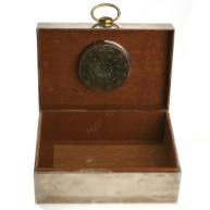 Hermes - Vintage Sterling Silver Cigar Box2
