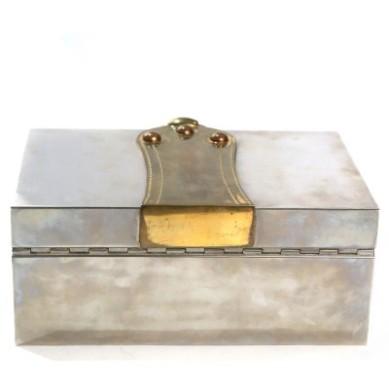 Hermes - Vintage Sterling Silver Cigar Box4