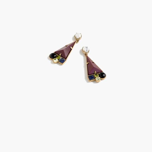 LULU FROST FOR J.CREW GEOMETRIC SHAPES EARRINGS