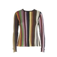 Marco de Vincenzo Rainbow Stripe Top