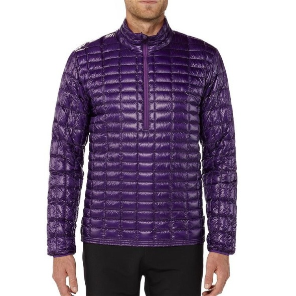 Patagonia Men's Ultralight down shirt purple
