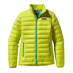 Patagonia Womens Down Sweater Jacket - Chartreuse