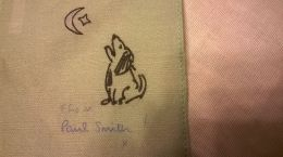 Paul Smith Pocket Scarf Bark at the Moon