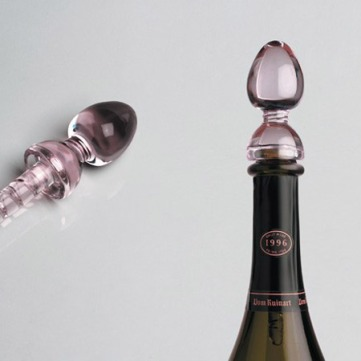 philippe_di_meo Wine Stopper - Crystal