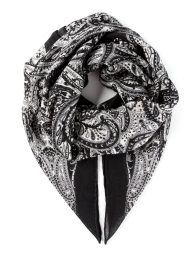 Saint Laurent Paisley Scarf