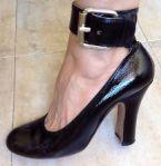 Vivienne Westwood Black Patent leather CuffShoe