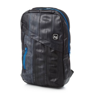Brooklyn Upcycled Bike Tube Backpack Uncommon Goods $148.00