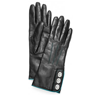 coach-black-leather-gloves-with turnlocks