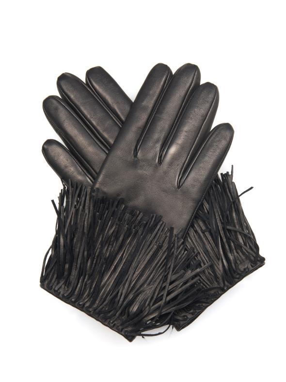 diane-von-furstenberg-black-fringe-leather-gloves-