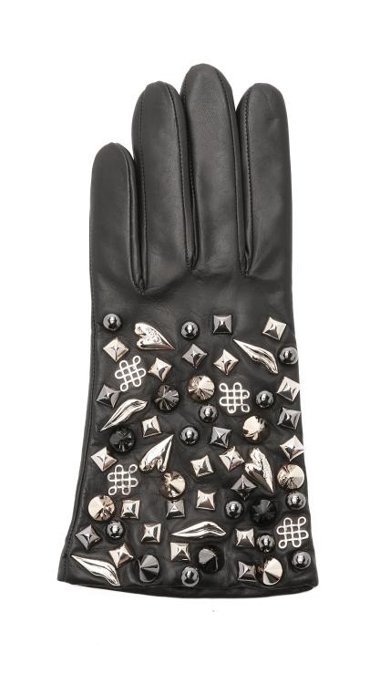 diane-von-furstenberg-black-studded-leather-gloves-black-