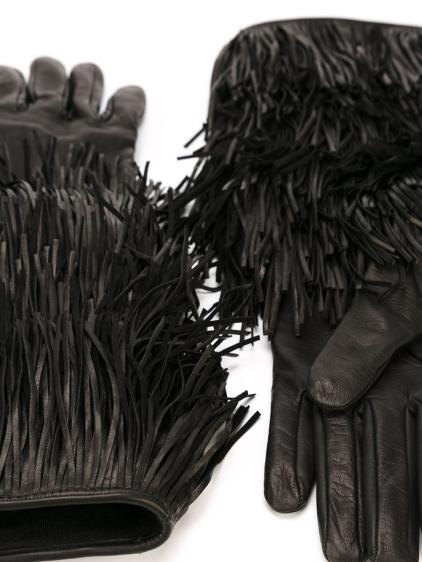 dsquared2-black-layered-fringe-gloves-