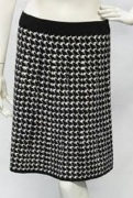 Max Studio Knit Houndstooth Pencil Skirt (dievca's is Willi Smith)