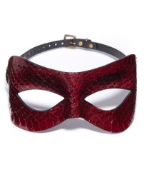 Paul Seville Red Snakeskin Mask