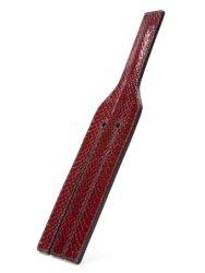 Paul Seville Red Snakeskin Paddle