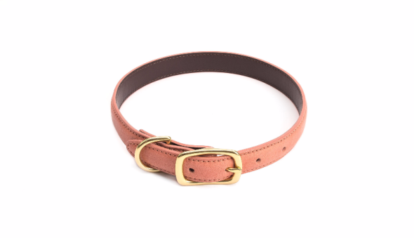 Shinola Orchid Leather Collar