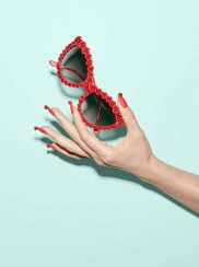 A-Morir Rose Sunglasses Red ss2016