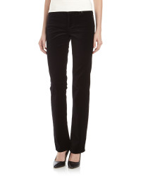 Christopher Blue Velvet Boot Cut Jeans black