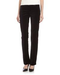 Christopher Blue Velvet Boot Cut Jeans black