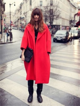 cocoon-coatAutumn-winter-woman-red-three-quarter-sleeve-maxi-oversize-coat-plus-size-FF72