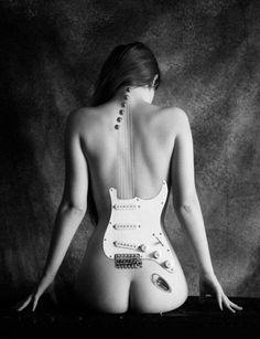 Female guitar